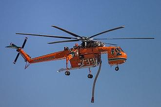 """Elvis (helicopter) - N179AC, known as """"Elvis"""""""