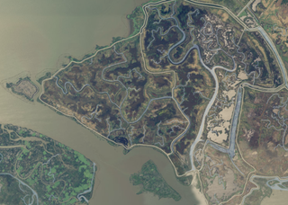 Simmons Island Island in California