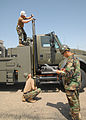NMCB-4 Seabees prepare water well support vehicle for shipment 090330-N-UK333-022.jpg