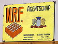 NRF enamel advert sign at the den hartog ford museum pic-111.JPG