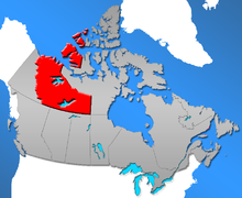 The Northwest Territories are the territory that lies west of Nunavut, east of Yukon, and north of Saskatchewan and Alberta.