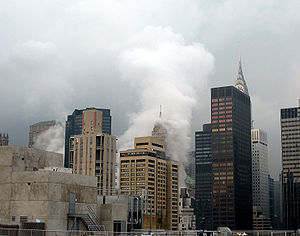 2007 New York City steam explosion - Image: NYC steam explosion 2