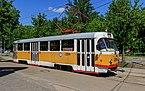 Nagatino-Sadovniki tram on NagatinskayaStreet img2 05-2015.jpg