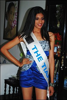 Namita Shetty training for Miss Universe India at The Tiara Pageant Training Studio.jpg