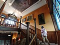 Nancy, Musée de l'Ecole de Nancy, escalier.jpg
