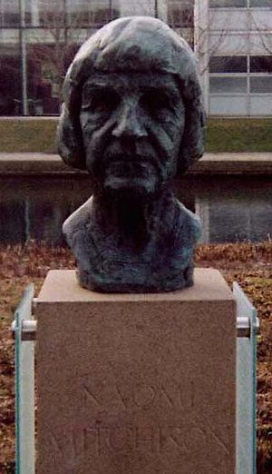 Naomi Mitchison - Statue of Naomi Mitchison, located in South Gyle, Edinburgh