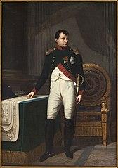 Napoleon I in Chasseur Colonel Uniform