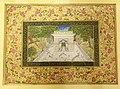 Narendra Modi's gift to the President of Tajikistan, Mr. Emomali Rahmon a miniature painting of tomb of the 17th century Indian poet Abdul Qadir Bedil, at the Qasr-e-Millat, in Dushanbe, Tajikistan on July 13, 2015.jpg