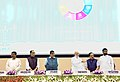 "Narendra Modi launching the ""Pro Active and Responsive facilitation by interactive and Virtuous Environment Single window Hub"" (PARIVESH), at the inauguration of the ""World Biofuel Day 2018"" programme, in New Delhi.JPG"