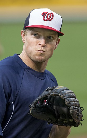 Nate McLouth - McLouth with the Washington Nationals in 2014