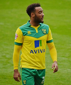 Nathan Redmond - Redmond playing for Norwich City in 2014