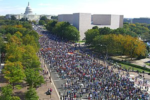 English: National Equality March on Washington