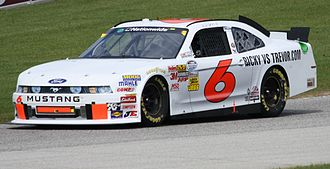 2011 NASCAR Nationwide Series - Ricky Stenhouse, Jr.'s 2011 Nationwide championship car at Road America.