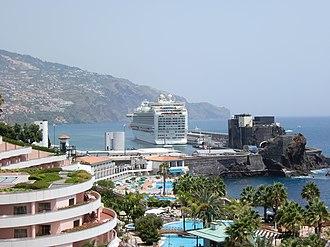 MS Azura - Azura in Funchal, Portugal