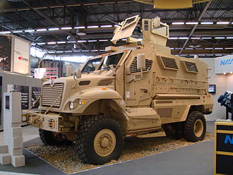 MRAP - International MaxxPro Category 1 MRAP