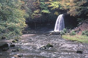 River Neath - Image: Neath Waterfall