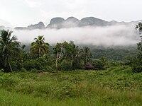 Landscape of Vinales Valley