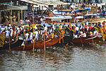 Nehru Trophy Boat Race Waiting to start DSW.JPG