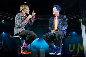 Neil Harbisson at the Science Museum (London).jpg