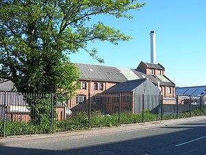 Ashbourne, Derbyshire - Former Nestlé creamery circa 2006, before demolition