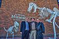 Neville Public Museum Dinosaur Sculpture Re-dedication.JPG