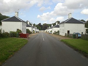 Houghton, Norfolk - Image: New Houghton village street geograph.org.uk 545750