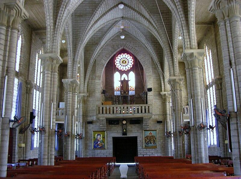 Nha Trang Cathedral, Back Inside.jpg