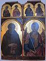 Niccolò di segna, santi benedetto e michele arcangelo, 1331-1345 ca.JPG