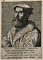 Niccolo Tartaglia. Line engraving by P. Galle, 1572. Wellcome V0005730.jpg