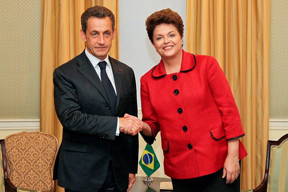 Nicolas Sarkozy and Dilma Rousseff (2011)