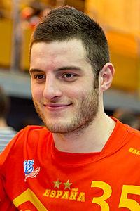 Niko Mindegia - Jornada de las Estrellas de Balonmano 2013 - 03.jpg