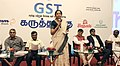 Nirmala Sitharaman along with CBEC officials participated in an interactive session on GST for Traders, CAs & Manufacturers, at Tiruchirapalli, Tamil Nadu.jpg