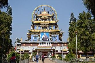 Nisargadhama - Namdroling Monastery located near Nisargadhama