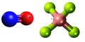 Nitrosonium tetrafluoroborate3D.png