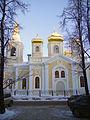 Nizhny Novgorod. Moscowian Saints Temple at Slavyanskaya Square.jpg