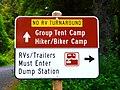No RV Turnaround Sign, Beverly Beach State Park.jpg