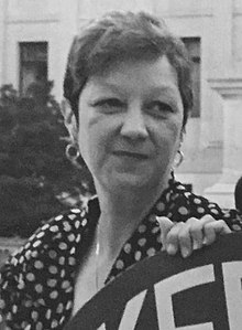 Norma McCorvey (Jane Roe), 1989 (cropped).jpg