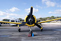 North American T-28A Trojan USAF N9102Z HeadOn TICO 13March2010 (14598868212).jpg