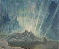 Northern Lights. Study from North Norway (Anna Boberg) - Nationalmuseum - 21327.tif