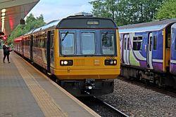 Northern Rail Class 142, 142062, Salford Crescent railway station (geograph 4500622).jpg
