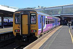 Northern Rail Class 156, 156491, Blackpool North railway station (geograph 4500096).jpg