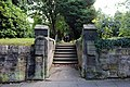 Northern path to St Andrew's Church, Bebington 1.jpg