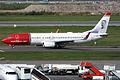 Norwegian (Anders Zorn livery), LN-NGH, Boeing 737-8JP (15836562093).jpg