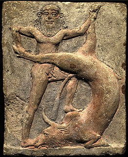 Bull of Heaven Figure in ancient Mesopotamian mythology