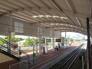 Victoria Park railway station, Perth railway station in Perth, Western Australia