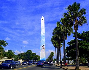 聖多明哥: Obelisco Santo Domingo