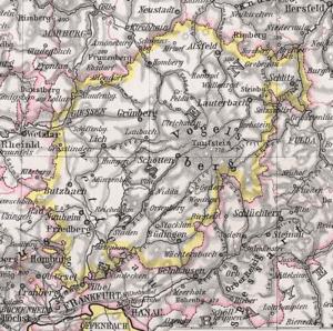 Upper Hesse - Province of Upper Hesse, 1905