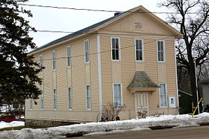 Rosendale, Wisconsin - Independent Order of Odd Fellows Lodge No. 89