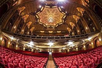Ohio Theatre (Columbus, Ohio) - Image: Ohio Theatre (feb 2014) 2