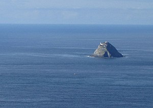 Donn - Bull Rock, off the southwest coast of Ireland, is often identified with Tech Duinn (the House of Donn)